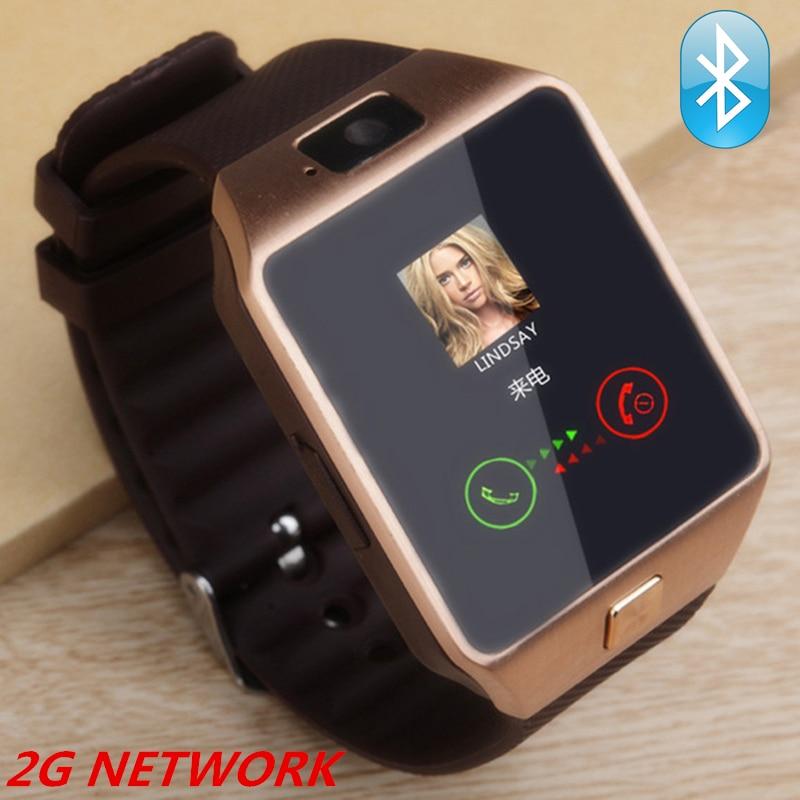 Smart Watch MEN WOMEN DZ09 smart clock 2G SIM Card Camera smartwatch for iPhone Samsung huawei Bluetooth Android watch phone