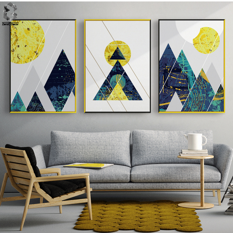 Nordic Modern Posters And Prints Wall Art Canvas Painting