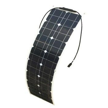 50w Solar Panel Monocrystalline Cilicon Cell Module DIY  5