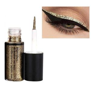 Image 5 - Professionelle Make Up Silber Rose Gold Farbe Flüssigkeit Glitter Eyeliner Bling Shiny Auge Liner für Frauen Auge Pigment Koreanische
