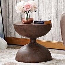 Скандинавский стиль диван угловой стол песочные часы Стильные