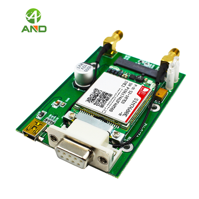 US $49 9 |LTE CAT4 4G 3G 2G GSM GPRS GNSS SIM7600E,PCIE to RS232 DB9 mini  USB interface,4G LTE support at command TCP IP-in Integrated Circuits from