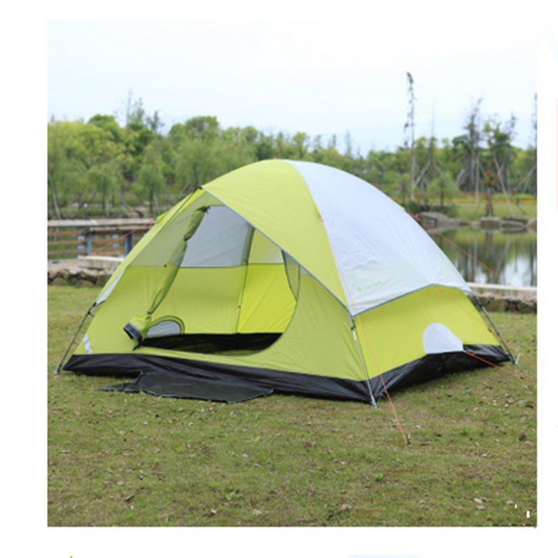 Outdoor Beach Tent 2 Person Tent Waterproof Lightweight Tent For Hiking Four Seasons Tent outdoor camping hiking automatic camping tent 4person double layer family tent sun shelter gazebo beach tent awning tourist tent