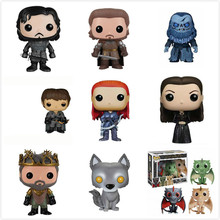 Funko POP Anime Song Of Ice And Fire Game Of Thrones Jon Snow/Daenerys/Ghost PVC Movie Action Figure Collectible Model Toys цена и фото