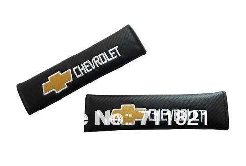De fibra de carbono del cojín de hombro para Chevrolet