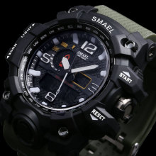 Waterproof Wristwatch LED Quartz