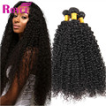 Hot Brazilian Kinky Curly Virgin Hair 3 Bundles Human Afro Kinky Curly Hair Extensions 100% 8-26inch Brazilian Curly Virgin Hair