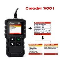 LAUNCH code reader CR3001 X431 Auto Diagnostic tool OBD2 Scanner Support Full OBD II/EOBD Launch Creader 3001Car Diagnostic Tool