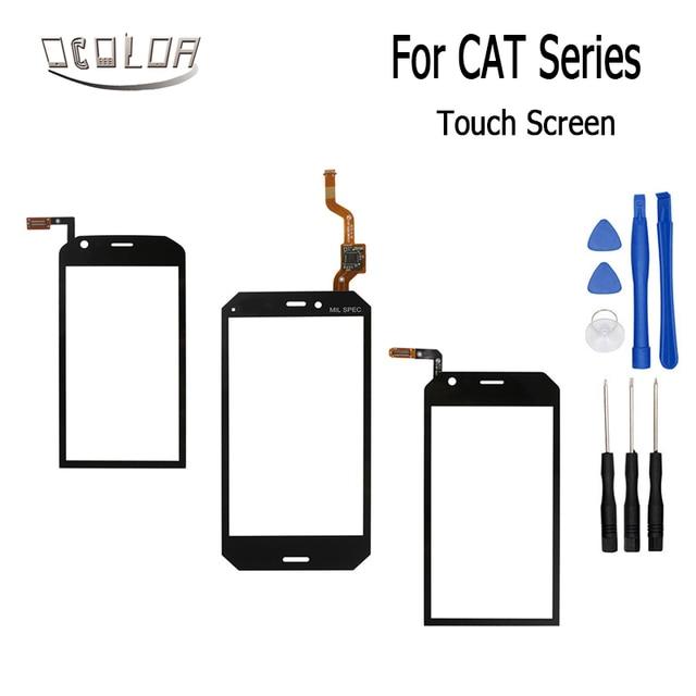 73af9c1d11a86e Ocolor Voor Caterpillar CAT S30 S40 S50C Touchscreen Lens Sensor Touch  Panel Vervanging Mobiele Accessoires +