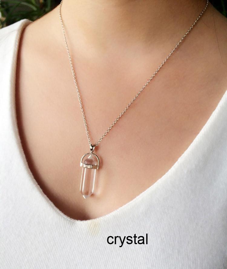 quartz necklace 4.69USD (7)