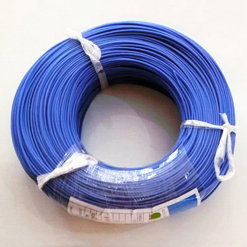 Tinned Copper Silicone Wire UL 3239 18 20 22 24 26awg Wire Insulated Wire UL3239 Cable Stranded Heat-resistant Multicolor Cable
