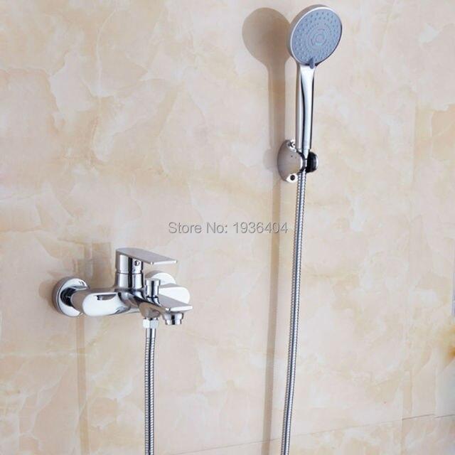 Charmant Bathroom Bath Hand Shower Mixer Tap Deck Mounted Single Handle Single Hose  ,Polished Chrome CS1006