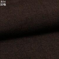 Pianura tessuto di cotone di spessore tessuto divano in tessuto decorativo 1 M all'ingrosso