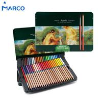 Marco Raffine 24 36 48 Color Art Colored Pencils Drawing Pencils For Secret Garden Watercolor Pencil
