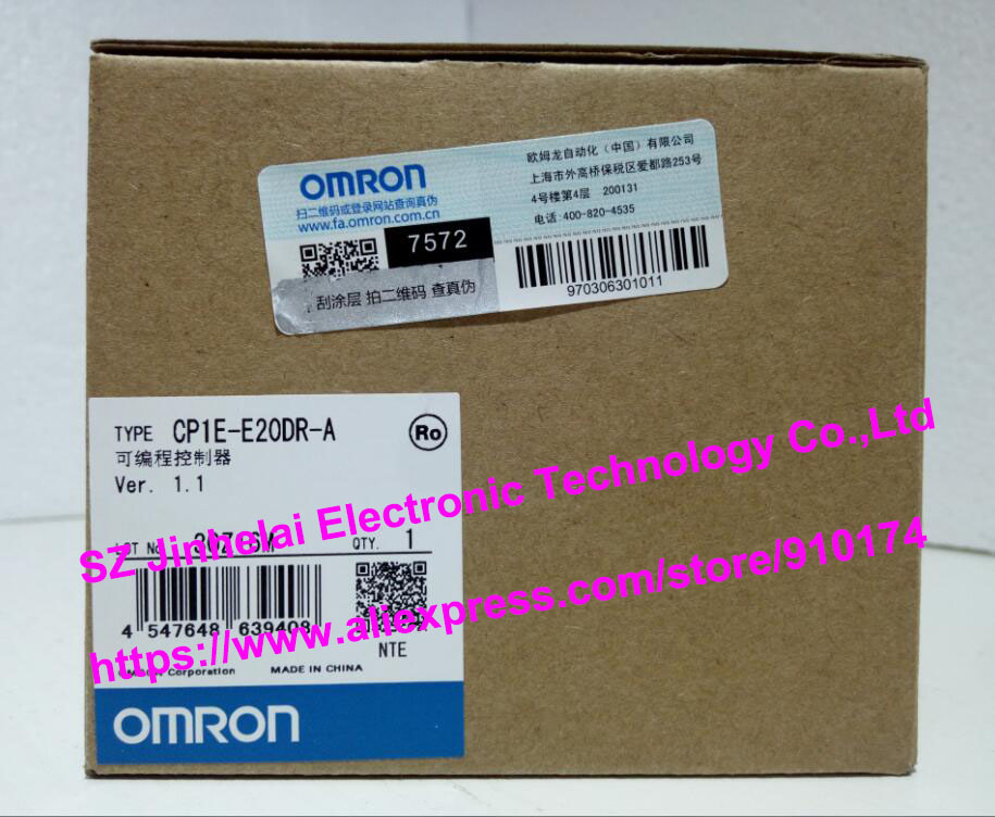 все цены на  New and original CP1E-E20DR-A  OMRON  Programmable controller  онлайн