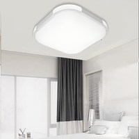 12W 18W 24W Square LED Night Light Ceiling Lamp Kitchen Bedroom Living Room Home Decor Indoor