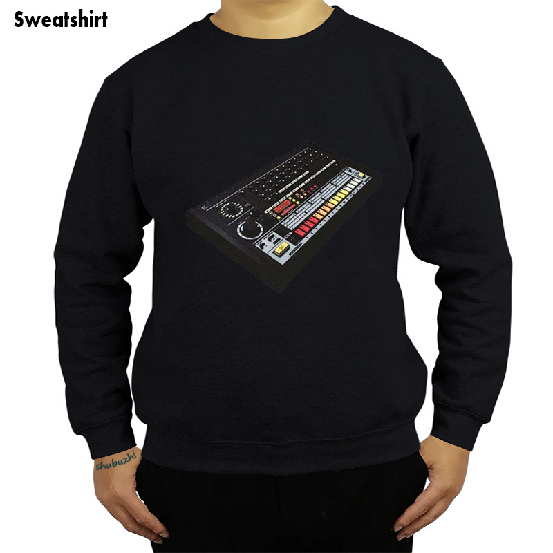 Tr-808 Hoodies 100% Cotton Moog 808 909 Acid House Drum Machine Shubuzhi Brand Mens Sweatshirt Fashion Hoodies Euro Size Convenience Goods Back To Search Resultsmen's Clothing