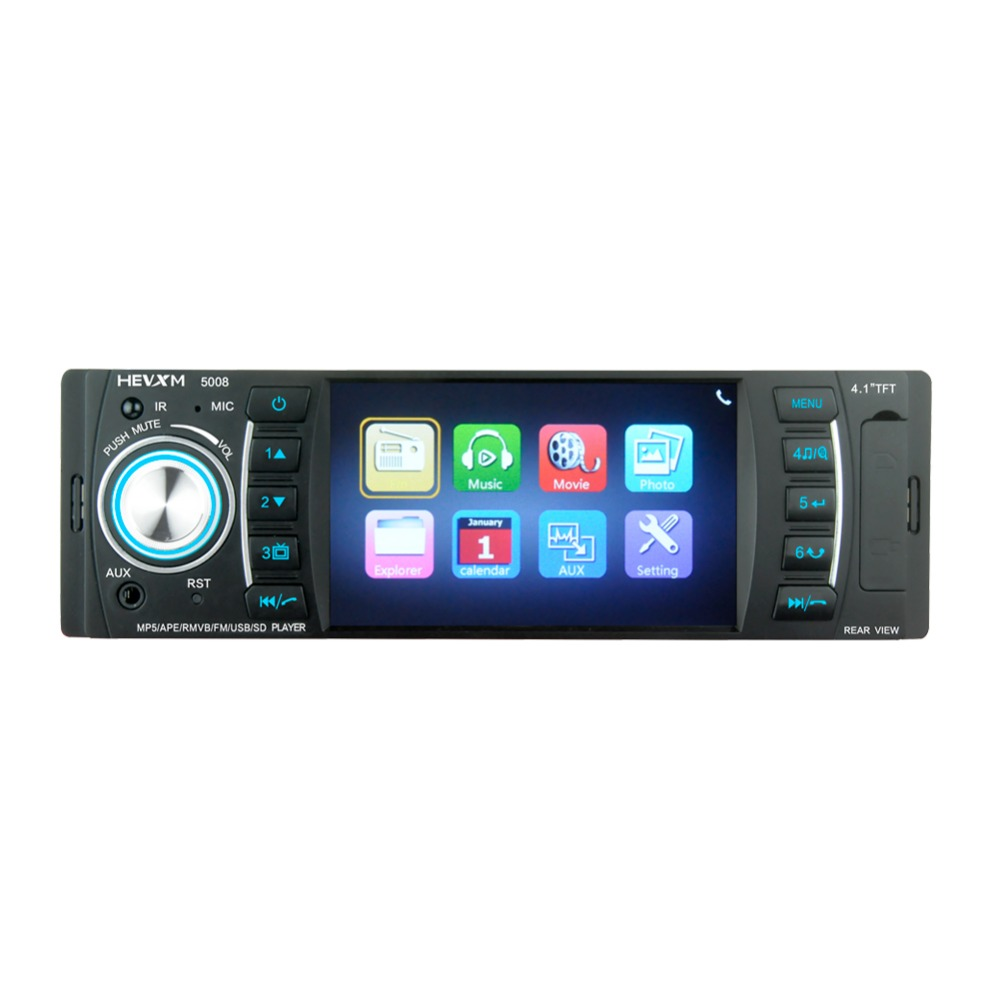 "Image 2 - HEVXM 5008 Universal Car MP5 player4.1"" Car Autoradio Video/Multi Media MP5 Player mp4 Car Stereo audio player with displa-in Car Radios from Automobiles & Motorcycles"