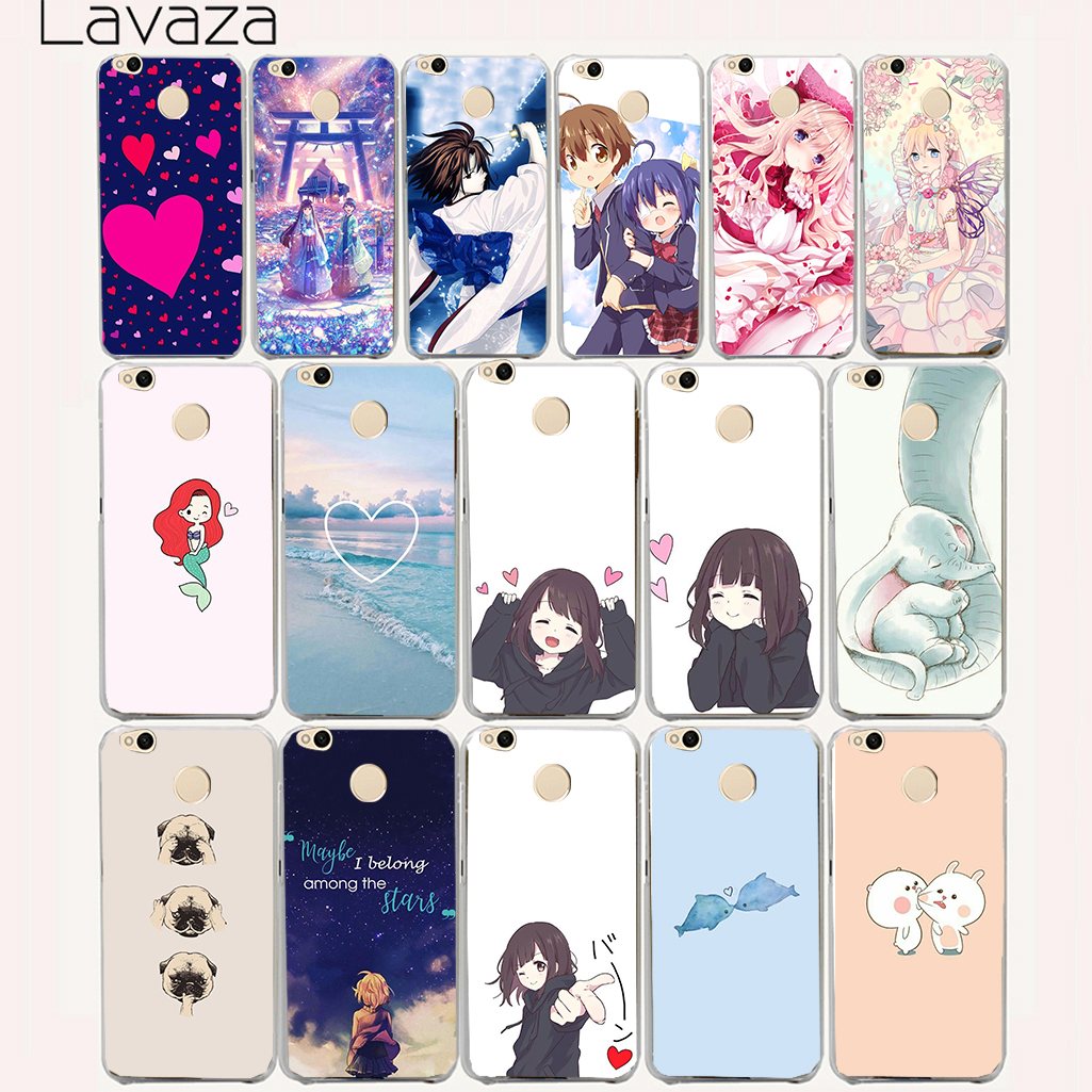 Lavaza 35aa love Anime Lovely girl Hard Case for Xiaomi Redmi 3s 4 4a 5 Plus Note 5a 5 4 4x 3 Pro