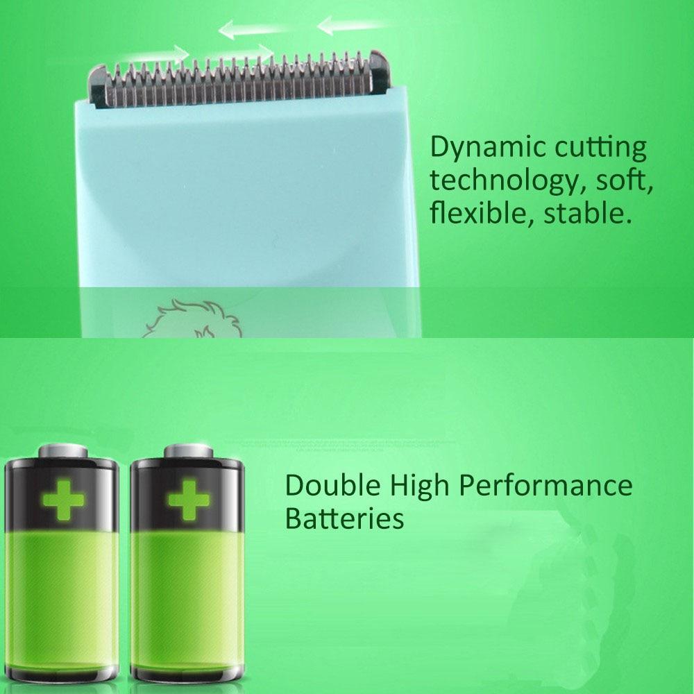Экологически чистый детский резак для волос Зеленый мягкий электрический клипер для Chairclipper Прямая