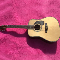 Chinese Factory Spruce Wood Panel Rosewood Fingerboard Full Serging Of Pearl Pearl Decals Ultra Luxury Acoustic