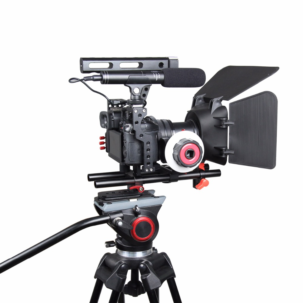 DSLR κάμερας Rig Βίντεο Σταθεροποιητής - Κάμερα και φωτογραφία - Φωτογραφία 2