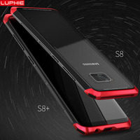 Luphie SFor Samsung Galaxy S8 Case Metal Bumper Luxury Aluminum Phone Cases For Galaxy S8 Plus