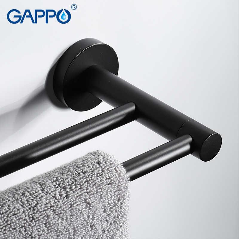 GAPPO タオルバー浴室ステンレス鋼タオルアクセサリーバスハードウェアタオルホルダーハンガーポルトナプキン