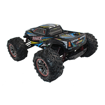 1:10 Scale Brushed 4WD 46km/H Fast Speed RC Climbing Rock Car Off-Road RC Bigfoot Car 2.4GHz Wireless Remote Control Cars Toy