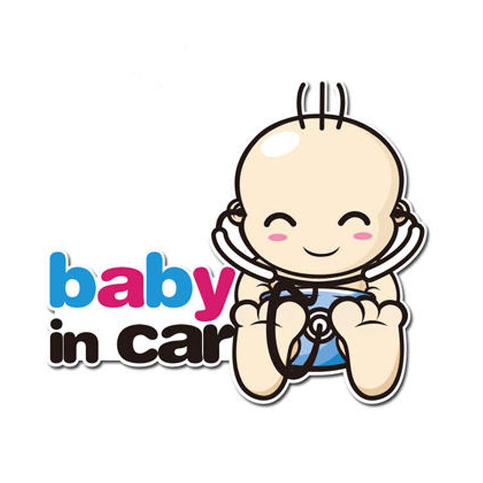 Stiker Mobil Styling Kreatif Set Pengingat Untuk Ibu Hamil Dan Bayi
