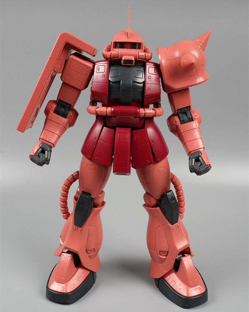 Daban Gundam 1/48 MEGA size MS-06F Char Red Zaku II Gundam 365mm Model DD045*