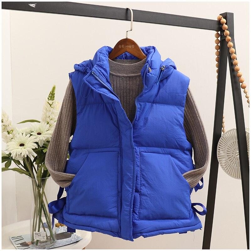Coton Version M3b Femmes Veste Costume Coréenne Marée Femelle Yx081 La Gilet D'hiver Capuche Cerise De SFtxtqBwd