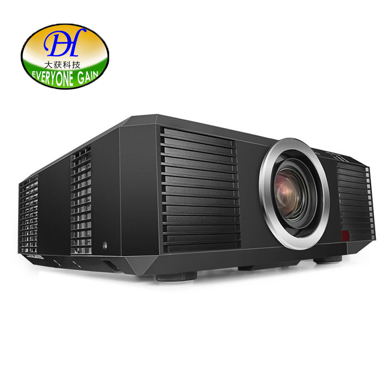 Everyone Gain 3LCD Engineering Projector 3D 10000lms Full HD Highlight Proyector Motorized LED Lamp Video DH