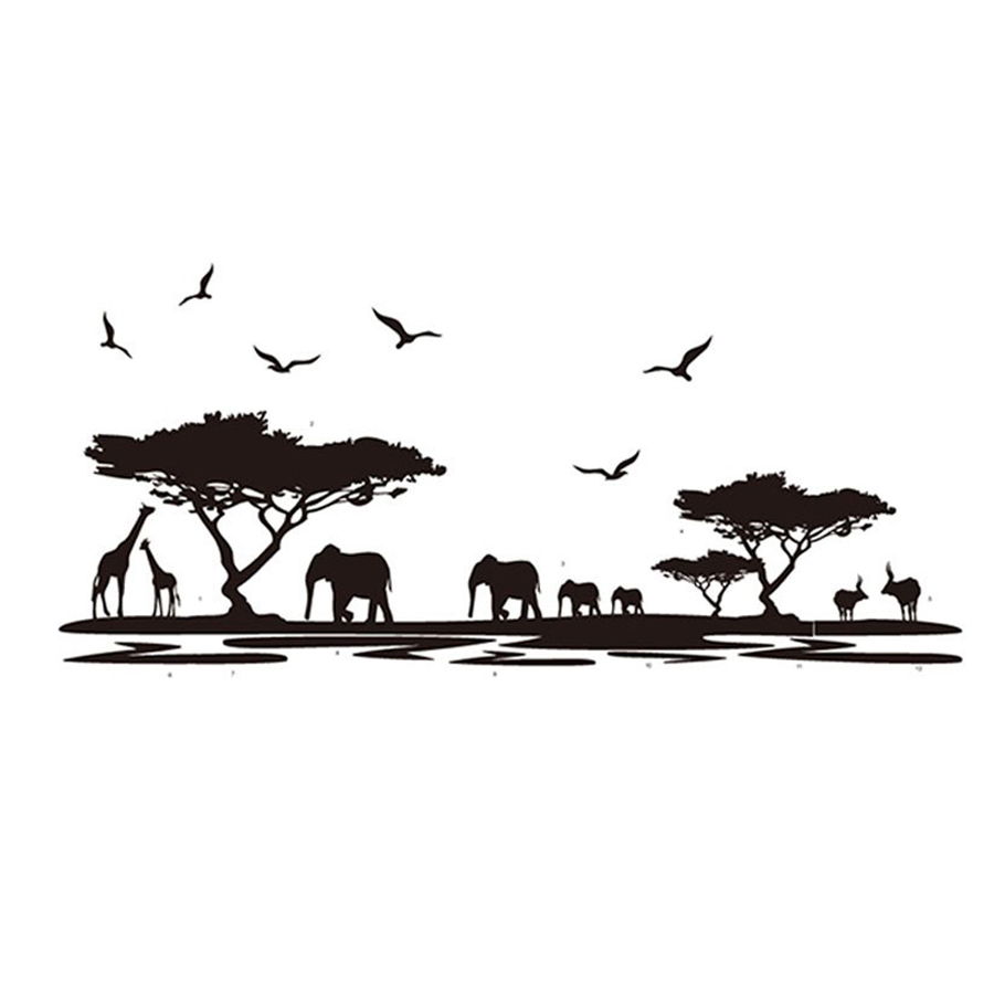 Wholesale 5* Removable Wall Stickers Art Decals Quotes Wallpapers Living Room Kitchen Bedroom Decorations Various Sizes