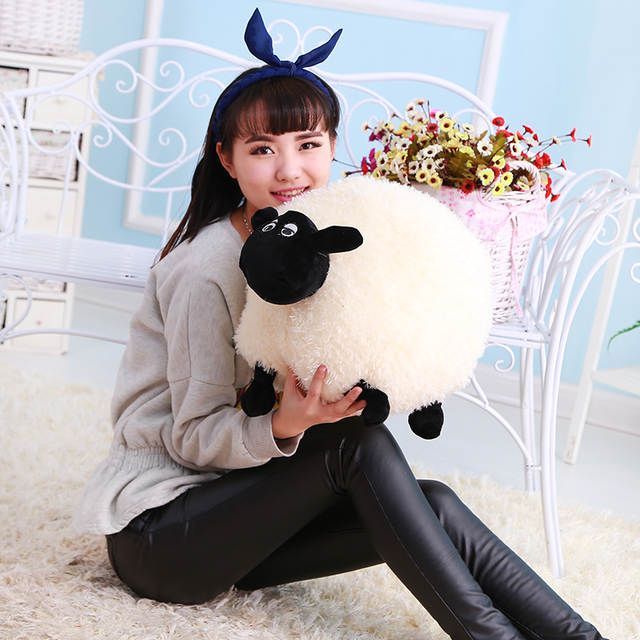 US $18 78 6% OFF|2pcs Uglydoll Plush Toy Sheep Doll of Shaw in Person Of  Interest Fashion Pillow Children Kids Gift Bolster Cushion White Grey-in