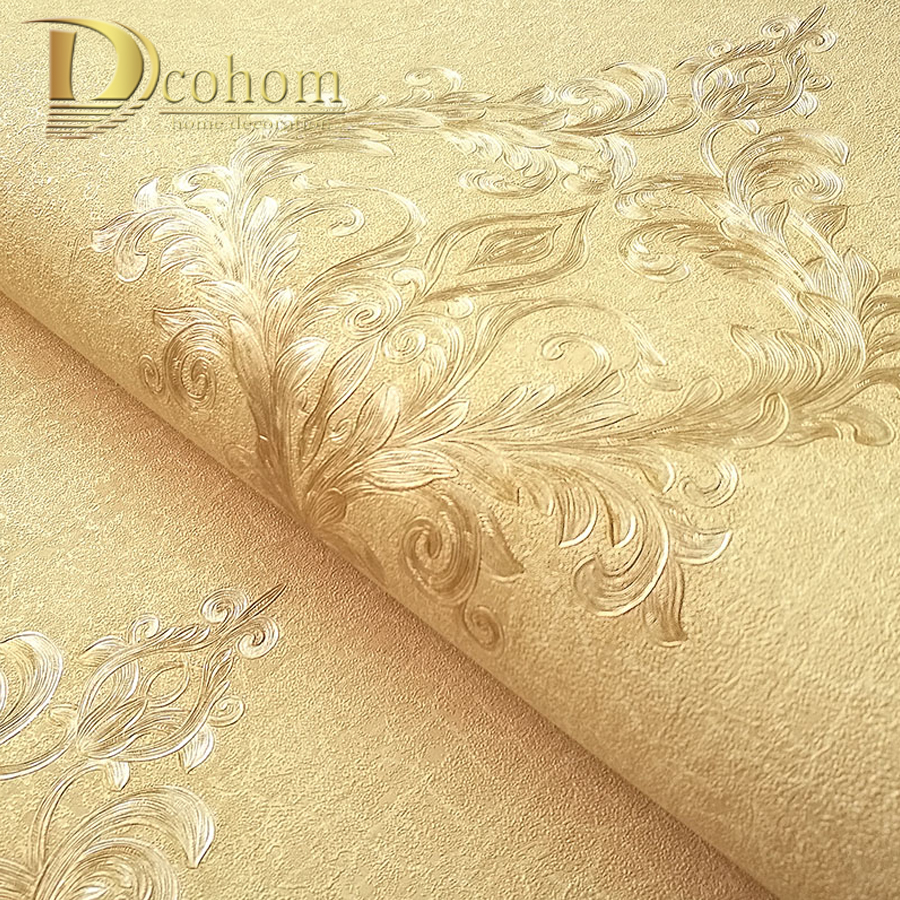 Vintage Simple European Style Damask Wallpaper Embossed 3D PVC Wall Paper For Bedroom Living Room Sofa TV Walls Decor free shipping vintage european style red wine wallpaper living room dining room bedroom sofa porch tv wallpaper mural