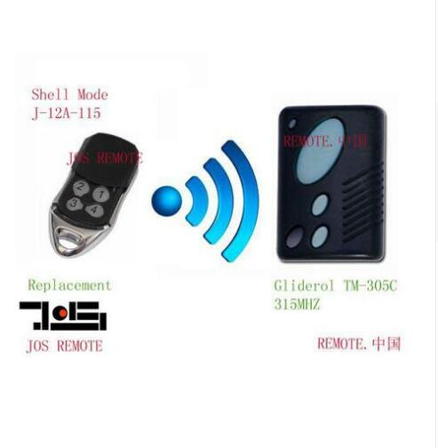 Gliderol TM-305C garage door replacement remote control top quality DHL free shipping the poison tide