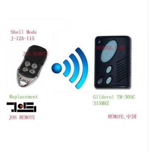 Online Shop Gliderol Tm 305c Garage Door Replacement Remote Control