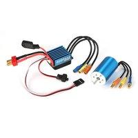 3674 2838 3100KV 4500KV 4P Sensorless Brushless Motor & 35A Brushless ESC Electronic Speed Controller for 1/14 1/16 1/18 RC Cars