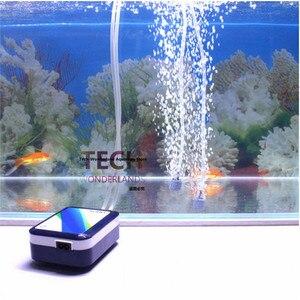 Image 5 - Mini pompe à air double usage, avec batterie Lithium, AC/DC, ultra silencieuse, avec 2 sorties, pour aquarium, aquarium, aquarium, poisson, SOBO SB 3000/SB 4000