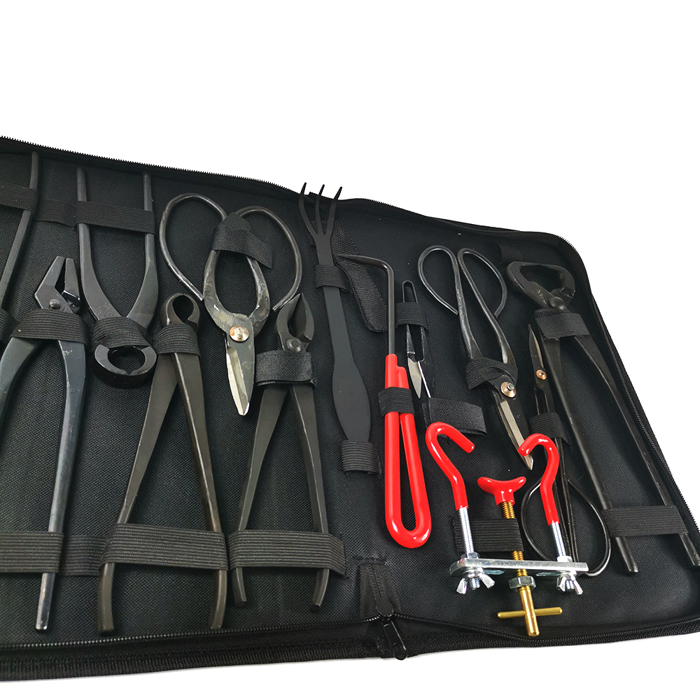 Carbon Steel Extensive Bonsai Pruning Tool Kit