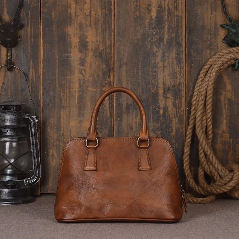 Casual Echtes Handtasche Mumie burgunder Luxus Schulter Taschen pflaume Umhängetasche Handtaschen Damen Große Frauen Leder Fashion Einfache Brown v4qxE7vdw