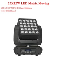 Barato Nueva llegada 25X15W 4IN1 Cree Led matriz móvil haz de luz DMX 512 RGBW Led etapa de lavado luces 19/29/117 canales 90 V-240 V
