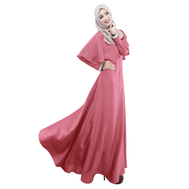 c2ca15861502 Elegant Cloak Kaftan Abaya Islamic Jilbab Muslim Dresses Long Sleeve Dress  Hot -in Dresses from Women's Clothing on Aliexpress.com | Alibaba Group