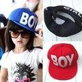 Милые Дети Мальчики Девочки Hat Бейсбол Hat Вс Охота Письмо Печати Детские Cap Регулируемая Hat