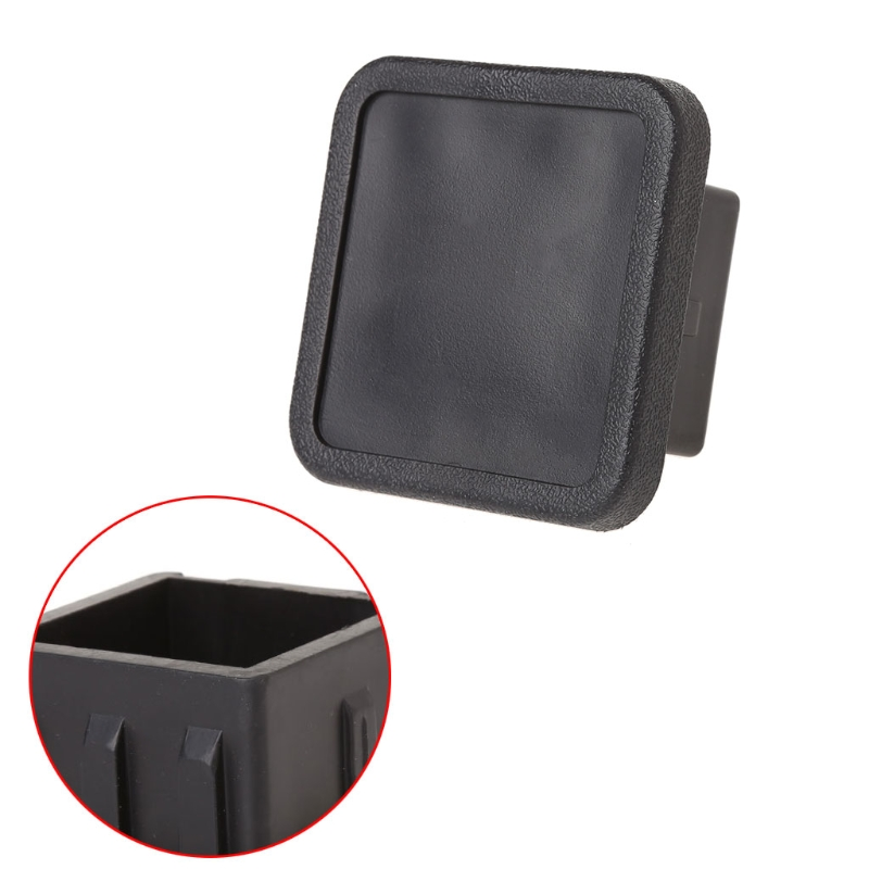 "Hot New 1 Pc 2"" Trailer Hitch Tube Receiver Cover Tow Plug Cap Dust Protecter Suv Truck Tailgate Van Rv To Help Digest Greasy Food"
