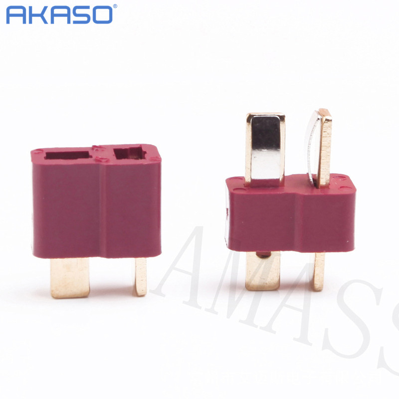 500 pair / 1000 pair RC Lipo Battery Helicopter 10 Pair T Plug Connectors Male Female for Deans battery wholesale free shipping 10 pair t plug connectors male female top quality rc lipo battery helicopter