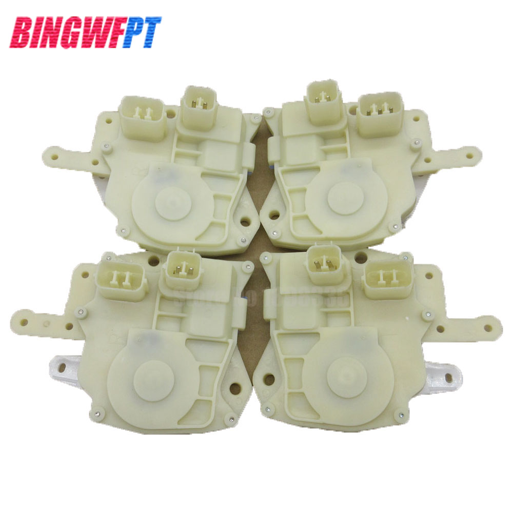 4pcs/set Door Lock Actuator Front Rear Left Right Side For Honda 72115-S5A-003 72155-S5A-003 72615-S5A-003 72655-S5A-003 цена