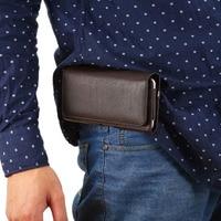 屋外ストラップ手男ベルトクリップ携帯電話ケースバッグカードポーチ用xiaomi redmi注4x、mi 5c、huawei社の名誉8プロ