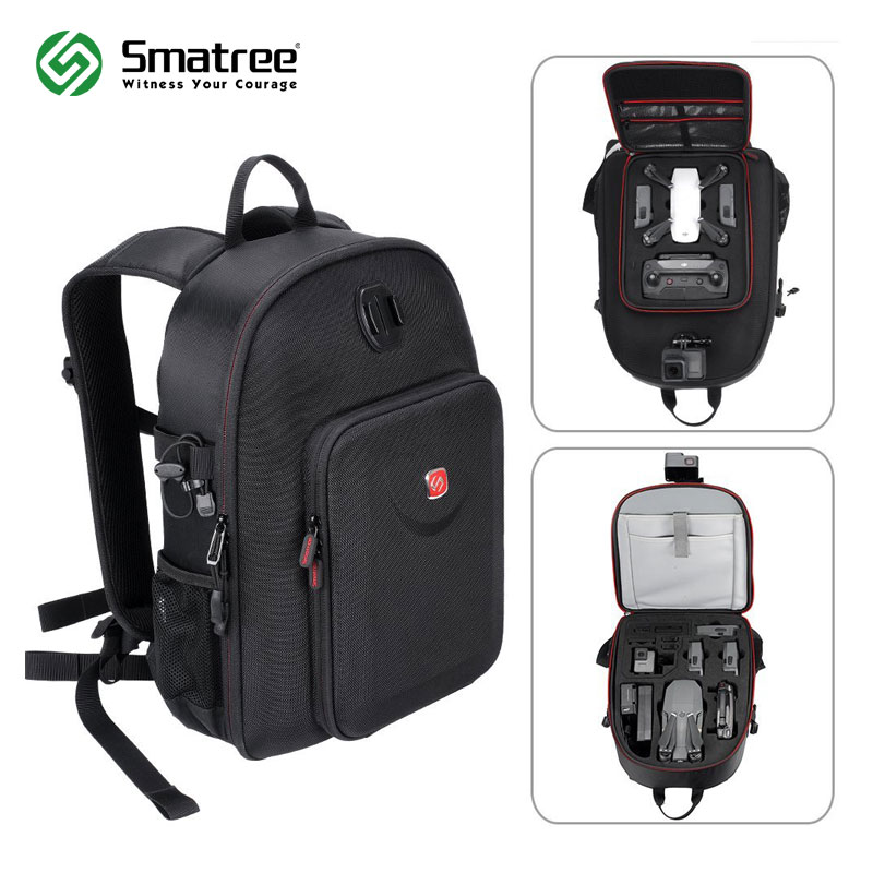 Smatree Multi-Purpose Backpack for DJI Mavic Pro Platinum/ DJI Spark/Gopro Hero 6 Camera(Drone and Accessory Not Included)